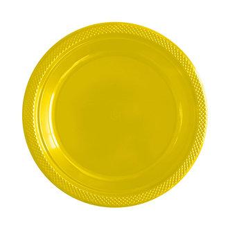 Plato 9° amarillo