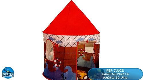 Carpa castillo infantil