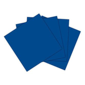 Servilleta azul rey