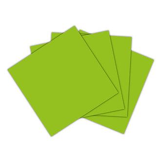 Servilleta verde lima
