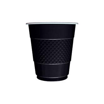 Vaso x10 negro