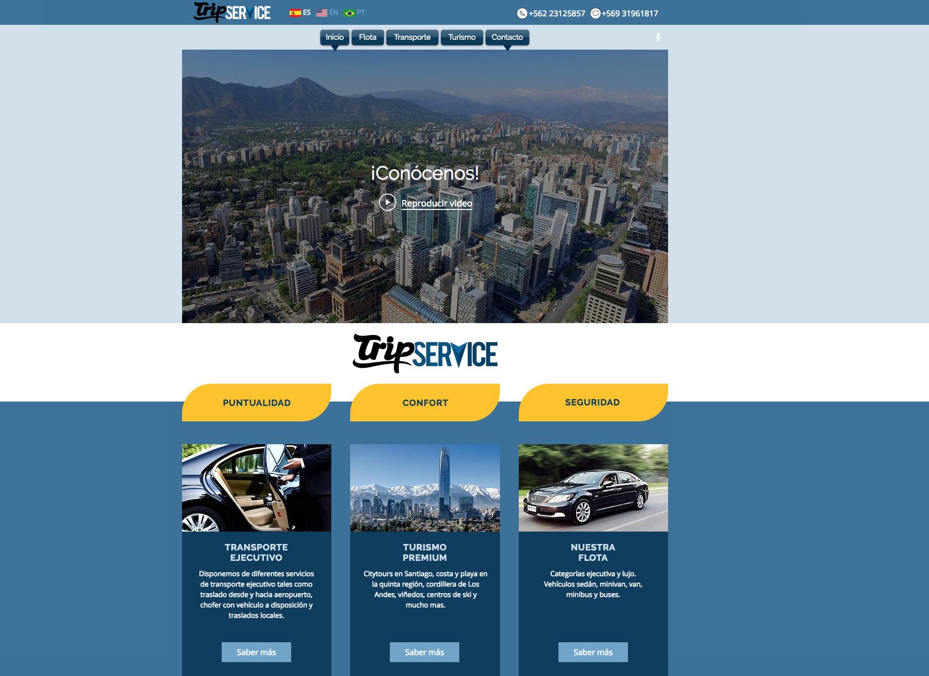 TripService Webpage