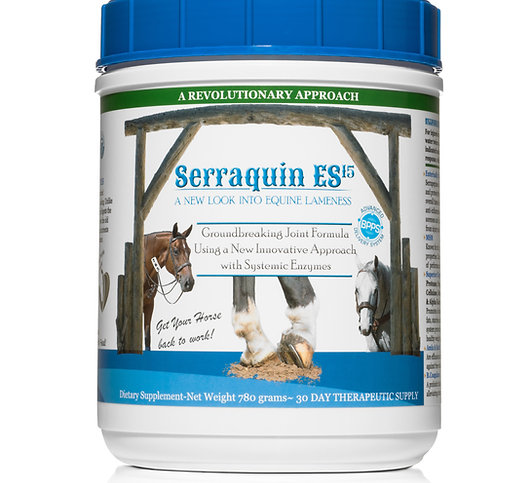 Serraquin ES15 Systemic Enzyme Formula 780 Grams