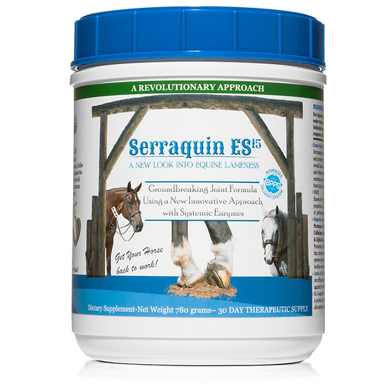 Serraquin ES15 Systemic Enzyme Formula 780 Grams