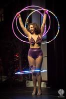 Lila Chupa Hoops LED
