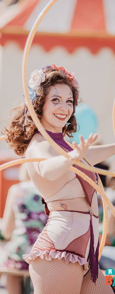 The Vintage Circus Girl