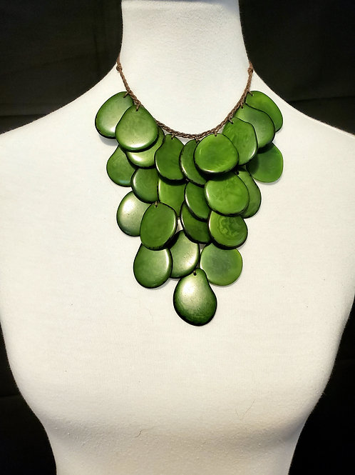 Raymi Tagua Nut Necklace