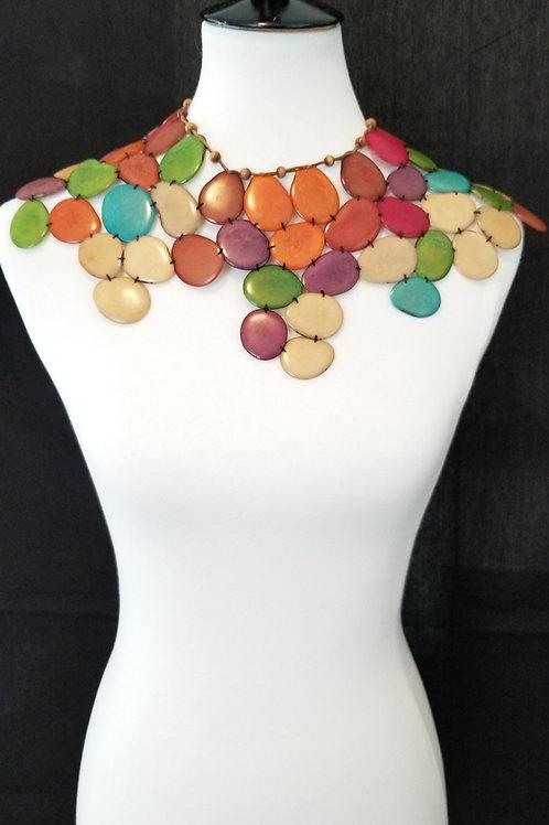 Shoulder to Shoulder Tagua Necklace 2