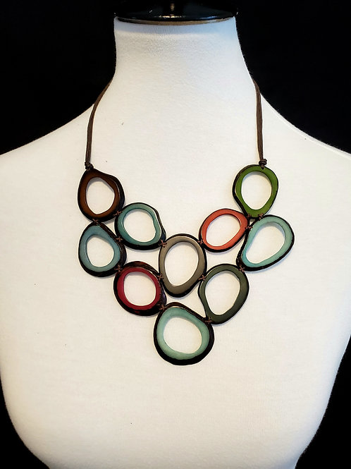 Waira Tagua Nut Necklace
