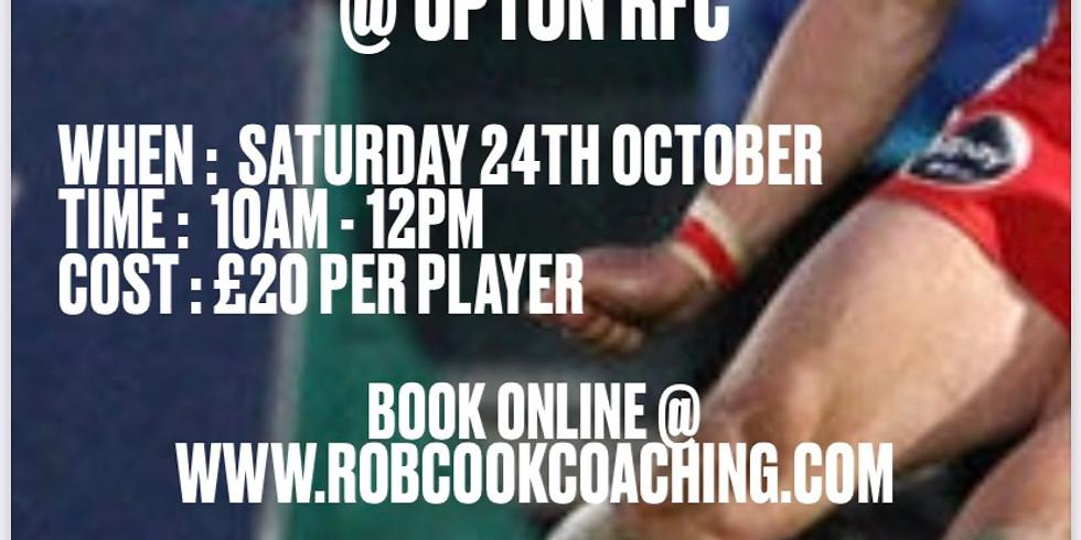 KICKING WITH ROB @ UPTON RFC