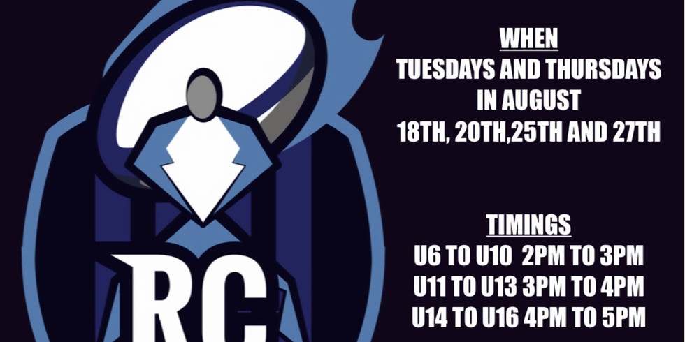 RC Coaching Skills Club U14-U16