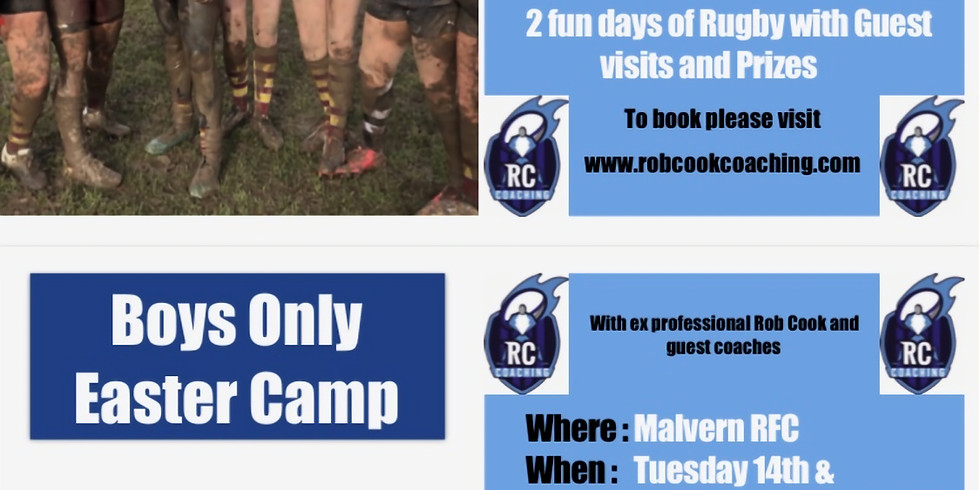 Rob Cook Coaching Easter Camp