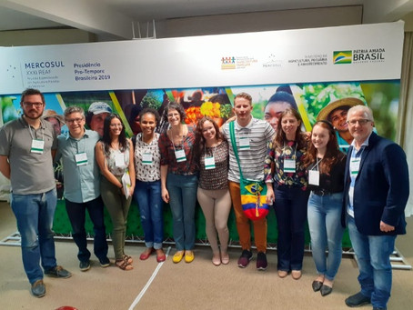 Participação na XXXI Reunião Especializada em Agricultura Familiar do Mercosul (REAF)