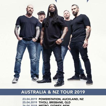 Sevendust Announce Australian Tour
