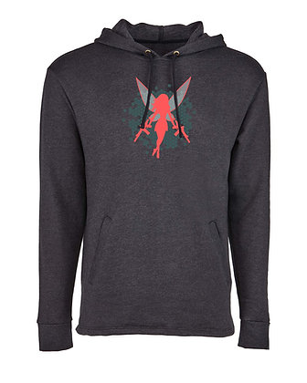 Coral Fairy Hoodie | Fleece Lined