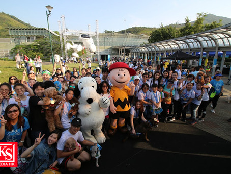 「Snoopy Run Hong Kong 2019」 開創全亞洲兩項創舉 首設 10 米高戶外充氣 Snoopy 登陸香港