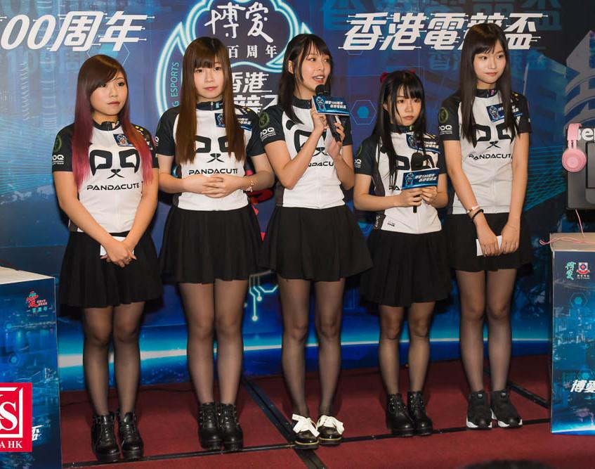 10 香港女子電競隊PandaCute