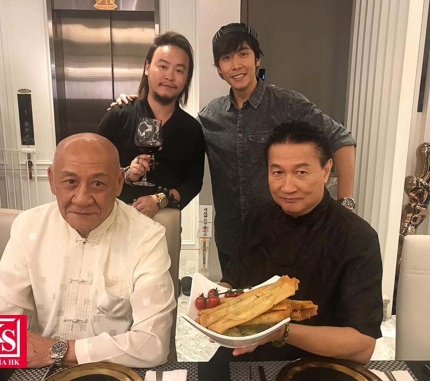 全新飲食節目《董事廚房》  李日朗想向鼎爺偷師學廚藝-4
