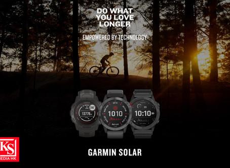 逆光而行.為勇者而生 Garmin皇牌GPS太陽能智慧錶款火熱登場