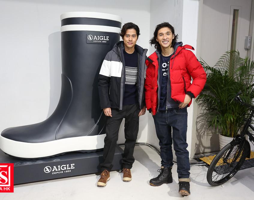 AIGLE今次特意為是次體驗館製作了一只約2米高的巨型LOLLY POP橡膠靴,