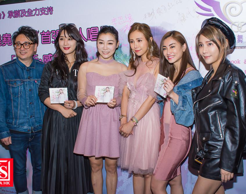 吳堯堯yoyo首張個人唱片從新感動發佈會及簽唱會-14
