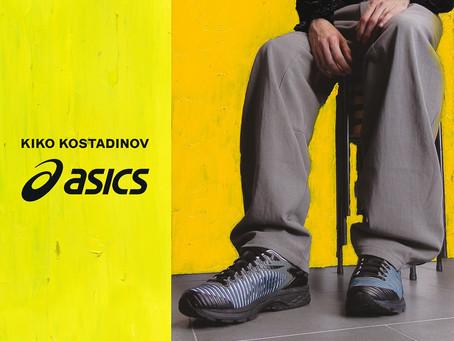 ASICS X KIKO KOSTADINOV第四度聯手 全新GEL-DELVA™系列 勢成高性能潮鞋之最