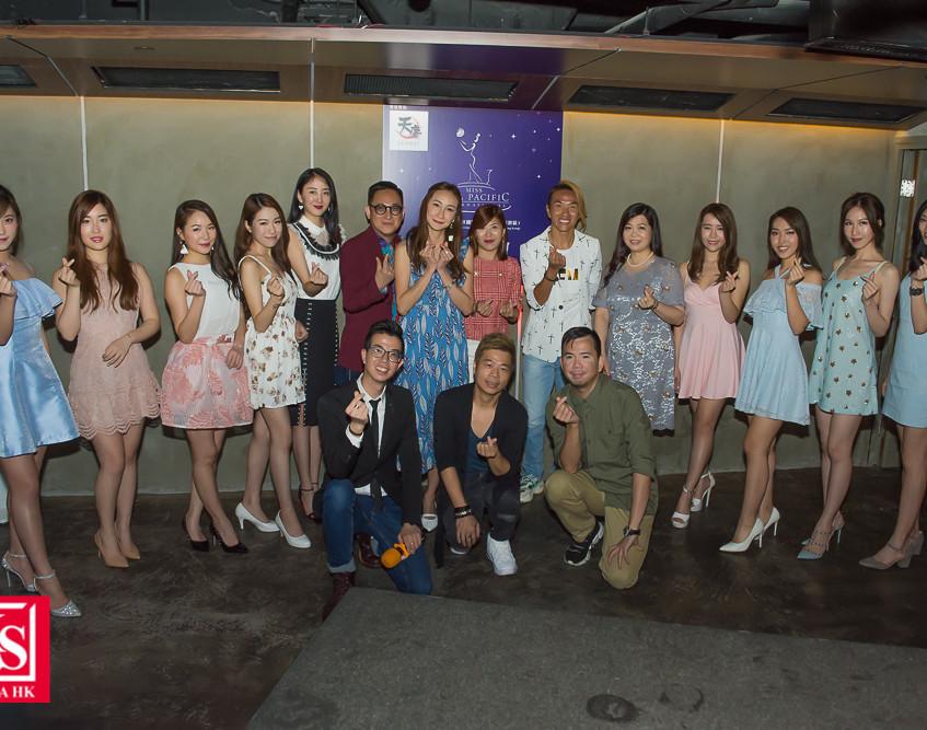 「2018亞洲太平洋國際小姐」眾評審大合照-