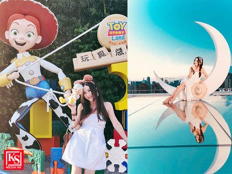 慰勞工作團隊飛海南島度假預祝中秋溫碧霞:這一年,大家都沒回家,辛苦了!