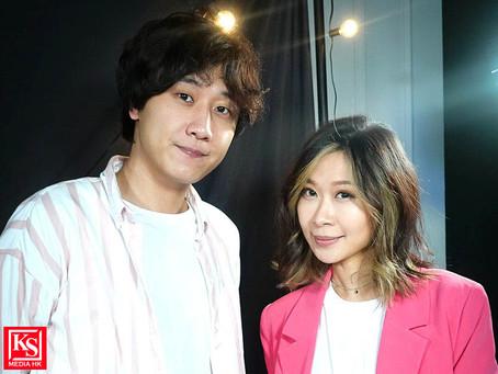 亞洲電視直播音樂節目《A – Live》邀得歌手朱紫嬈擔任嘉賓與節目主持李昊昕分享音樂