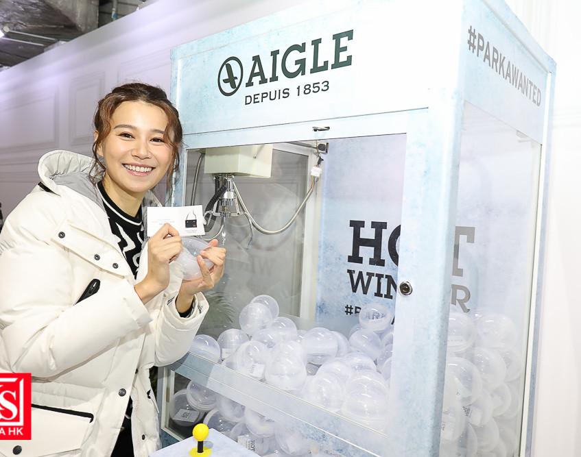 AIGLE開設全港首間期間限定「#HOTWINTER體驗館」-19