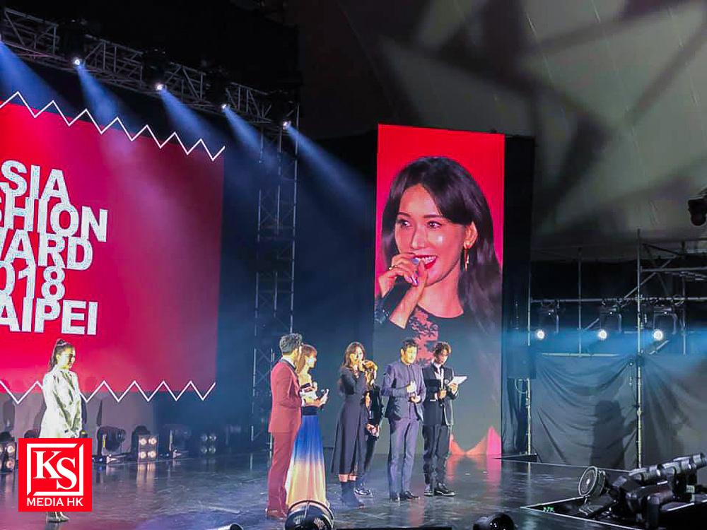 香港時尚達人洪詠霖Sarina獲邀出席亞洲時尚大獎, 喜與小時偶像見面