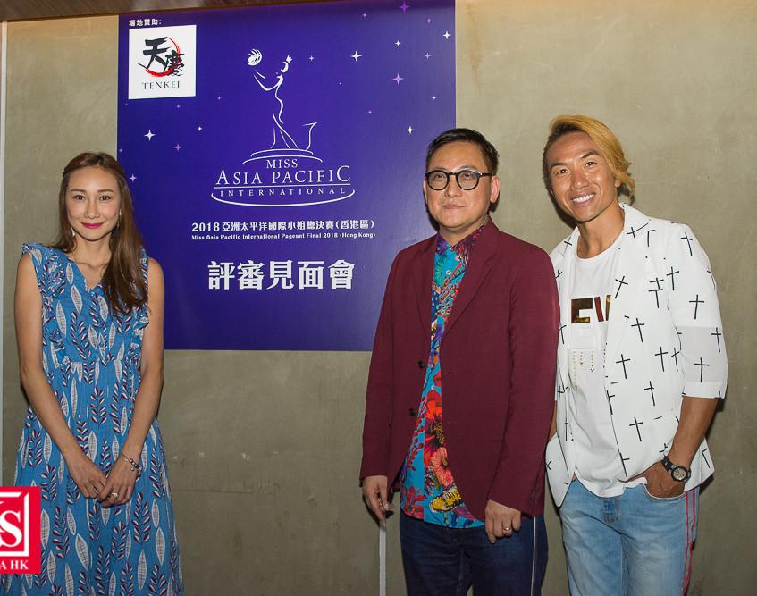 「2018亞洲太平洋國際小姐」名模何紫綸小姐, 著名設計師Walter Ma先生