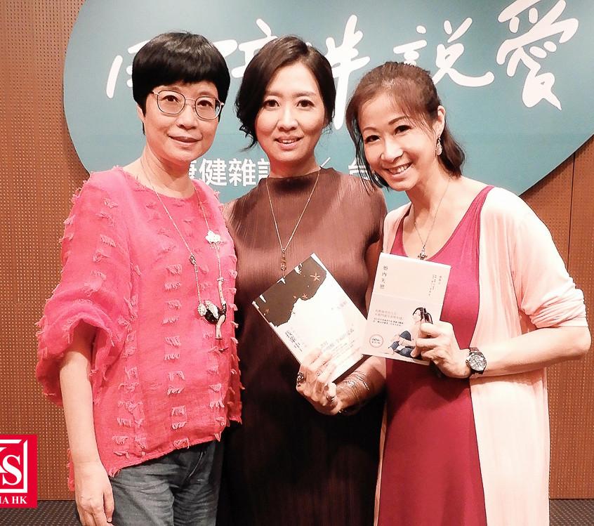 有幸遇上台灣著名女作家張曼娟及鄧惠文的演講會,Winnie 直呼幸運兼感恩