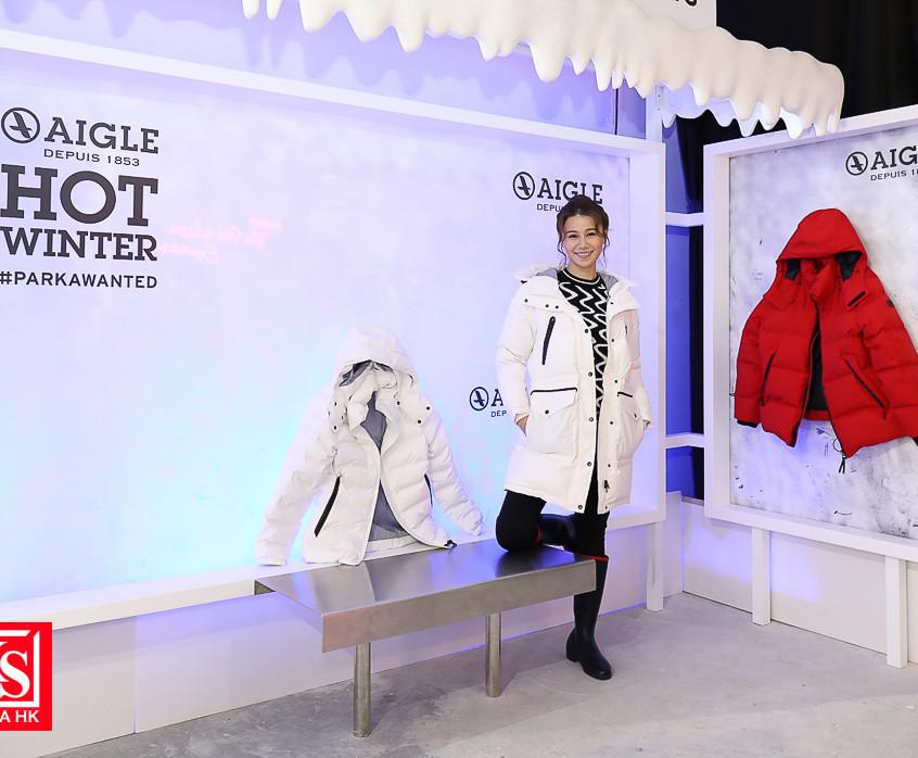 AIGLE將今季全新廣告企劃的場景重現,讓您猶如置身時尚之都巴黎,化身#HOTW