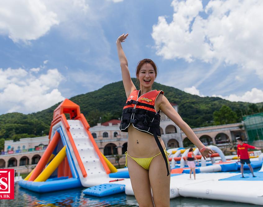01 一眾參加者逐一挑戰草帽小子一伙 的水上障礙賽,齊齊踏上冒險之旅! (3)
