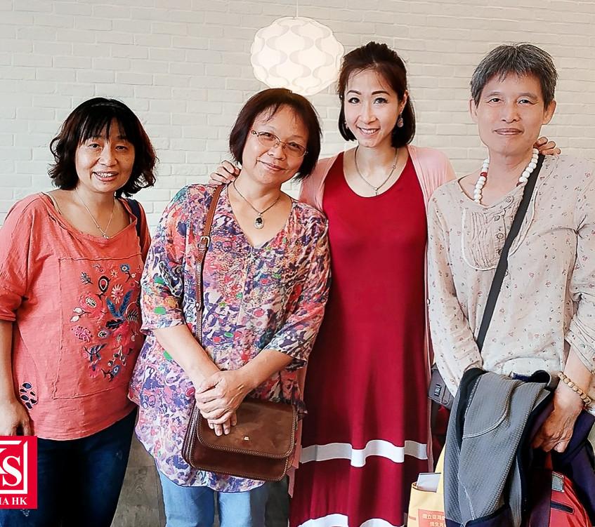 Winnie 回台灣與老師們相聚