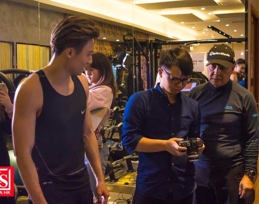 Hayden Leung梁奕藍, 新MV拍攝探班 (6)