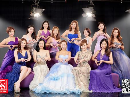 率「仁美」成員搞重組十周年晚宴 主席程瑤邀羅霖重返亞視影紀念相