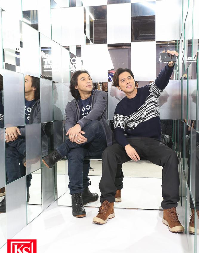 全新設計的「鏡房」,讓參加者在萬花筒般的角度,享受冰感極致體驗! (2)
