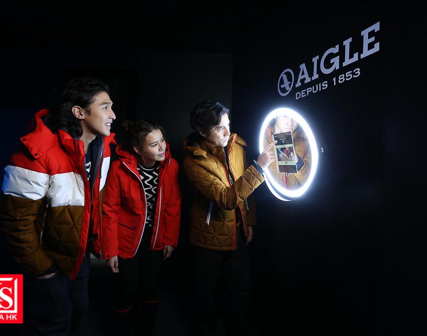 AIGLE開設全港首間期間限定「#HOTWINTER體驗館」-15