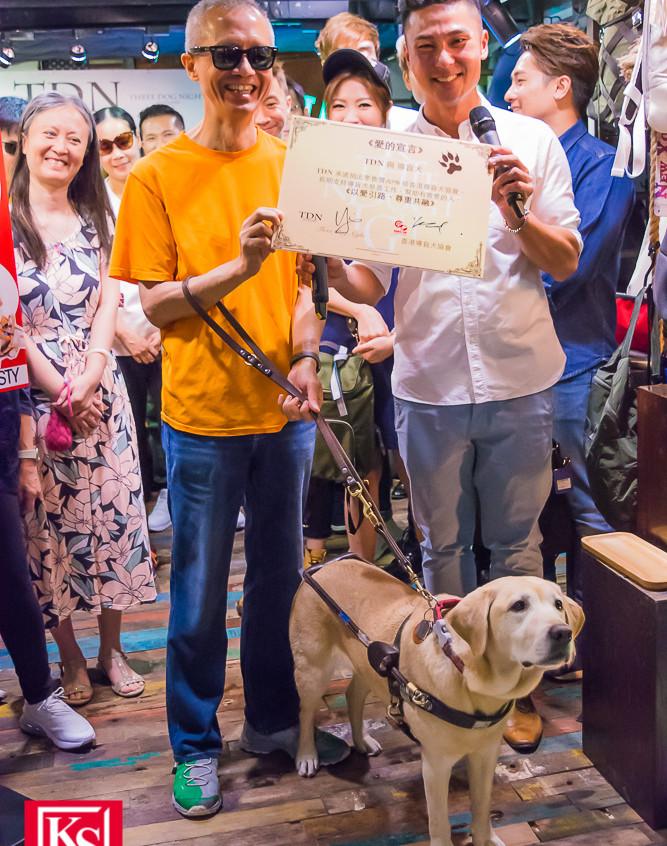 TDN x 導盲犬慈善義賣活動-2