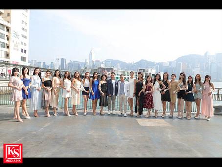 《亞洲小姐競選2021》餐桌禮儀活動一眾佳麗學習正規餐桌禮儀提升個人水平