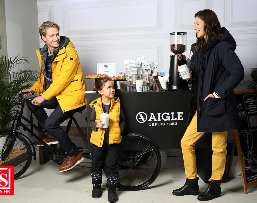 AIGLE開設全港首間期間限定「#HOTWINTER體驗館」-5