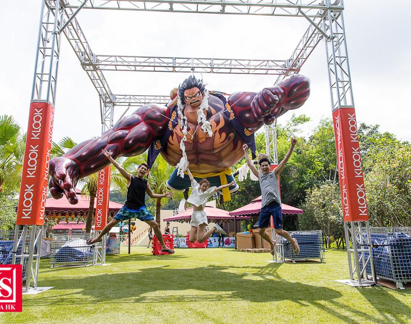 07 經典主角路飛是不少海賊迷的摯愛,是次將展出首次在亞洲 露面身高高達4米的巨型路飛4檔,各位粉絲絕對不容錯過。