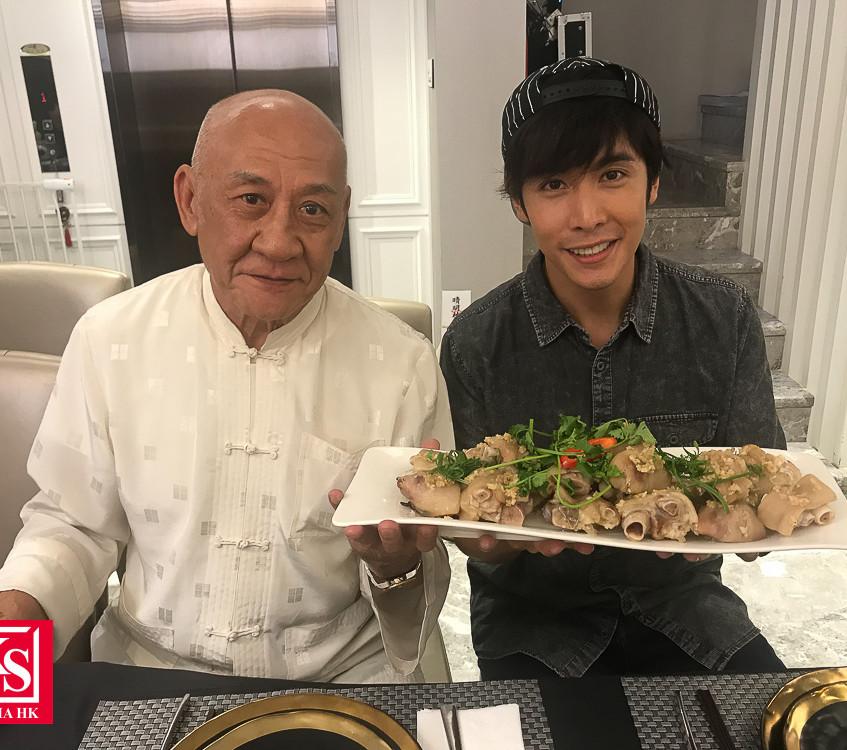 全新飲食節目《董事廚房》  李日朗想向鼎爺偷師學廚藝