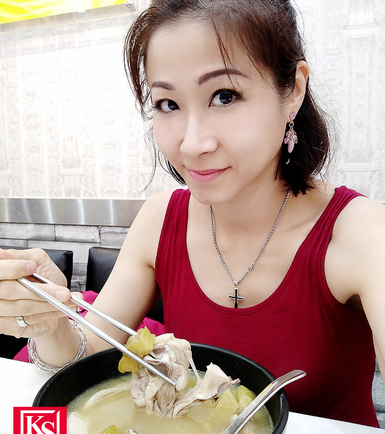 Winnie 在台灣食得放肆,大食大喝笑言長胖不少 (3)