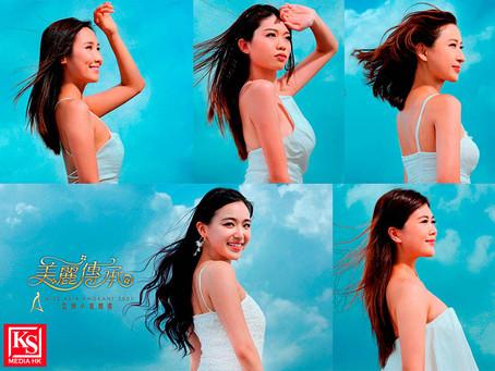 一眾亞洲小姐分享拍攝《亞洲小姐競選2021》招募宣傳影片感受以活力、清新和少女造型將美麗傳奇傳承延續