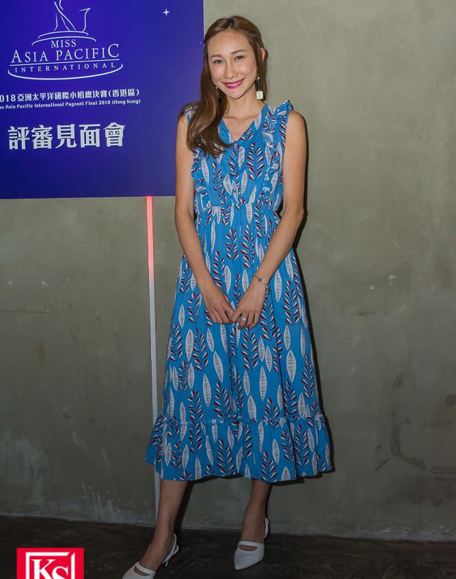 「2018亞洲太平洋國際小姐」最後8強佳麗見面交流 名模何紫綸小姐--3