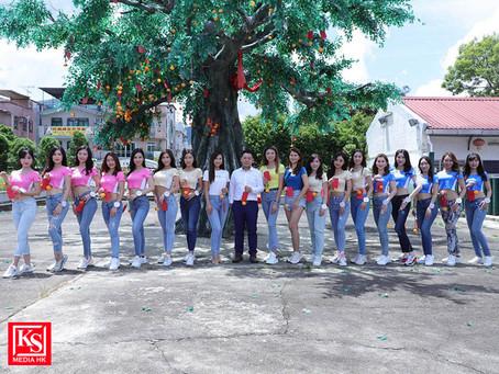 《亞洲小姐競選2021》許願樹祈願活動 一眾佳麗到許願樹祈求於競選中有優秀成績