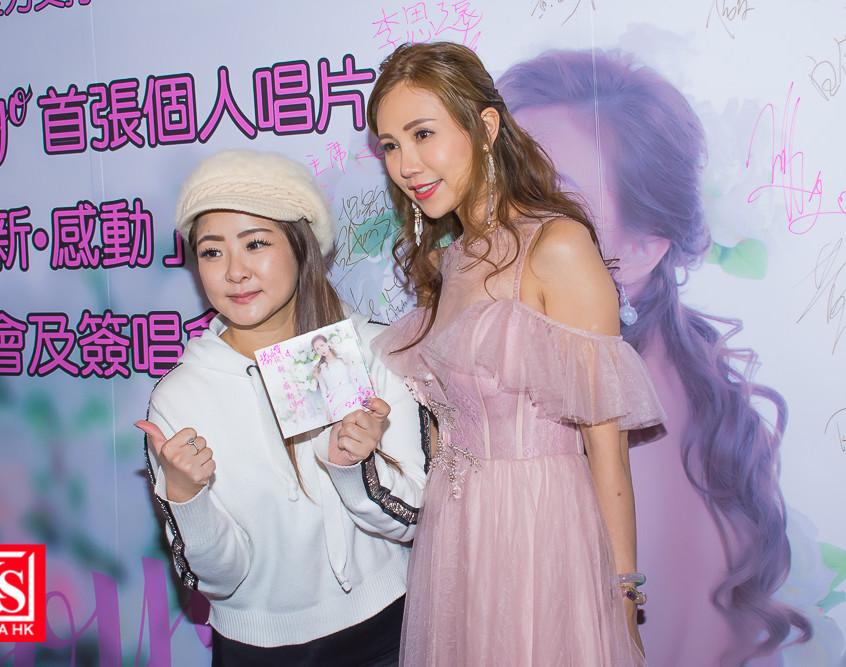 吳堯堯yoyo首張個人唱片從新感動發佈會及簽唱會-17